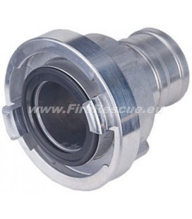 STORZ SUCTION COUPLING 75-B / Ø75 NOZZLE STAINLESS STELL