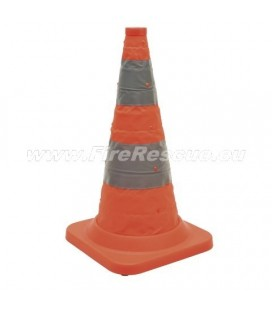 TRAFFIC CONE PRO VERSION - FOLDING & FLASHING