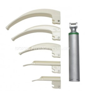 ECO COLD LIGHT LARYNGOSCOPE SET - 6 PART