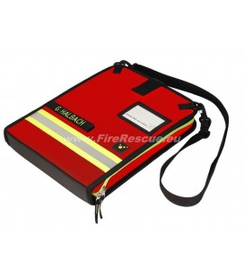 TEE-UU DOKU OPERATION CONTROL FOLDER DIN A4 LANDSCAPE - RED