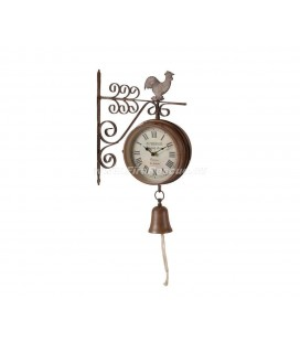WALL CLOCK FIRE BELL
